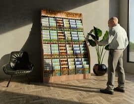Nro 23 kilpailuun 3D Model A Literature Stand käyttäjältä joksimovicana