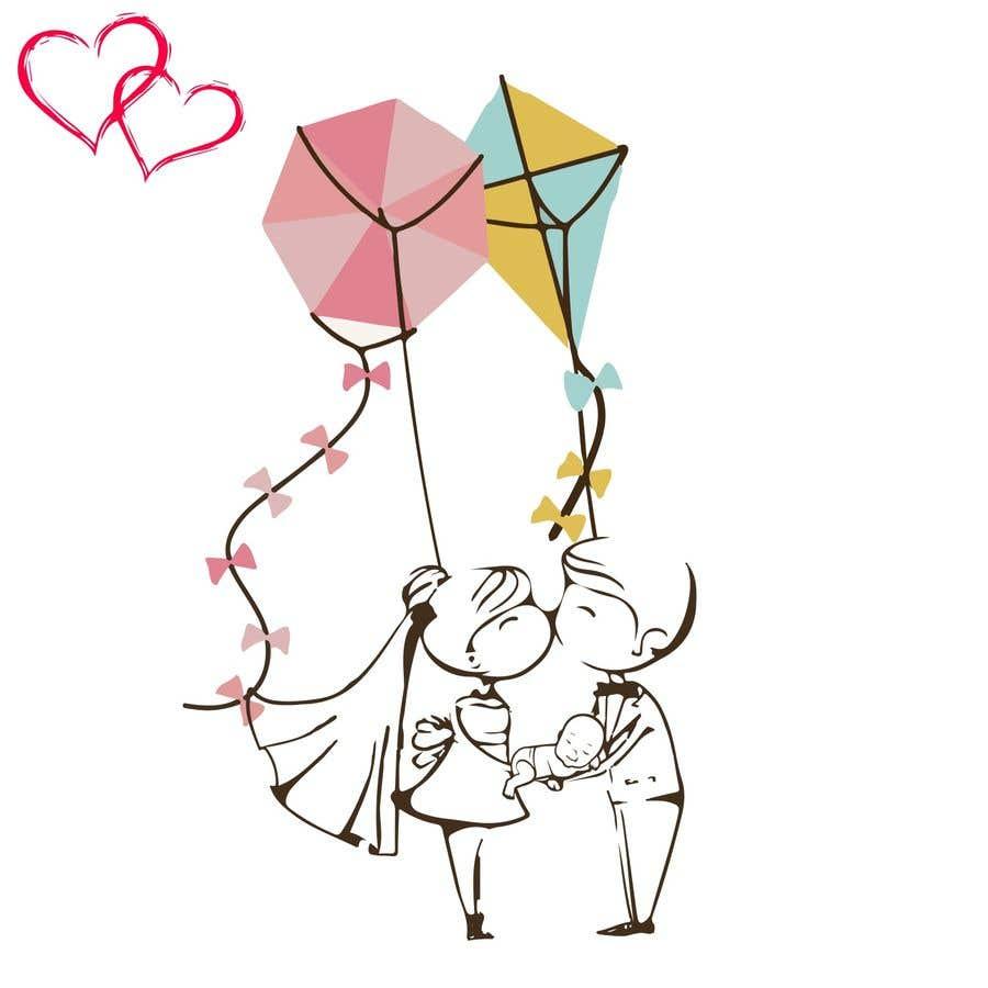 Proposition n°                                        7                                      du concours                                         Logo pour faire-part de mariage et de naissance
