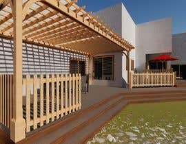 #3 для Design the deck for this house. от KayKiyo