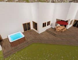 #7 для Design the deck for this house. от KayKiyo