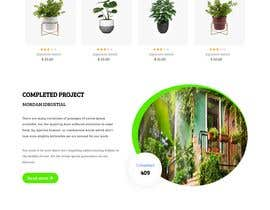 #4 untuk Create website mockup design for plant nursery Nursery oleh poroshsua080