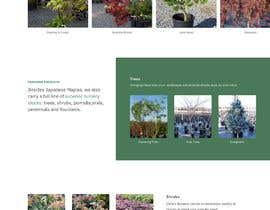 #16 for Create website mockup design for plant nursery Nursery by anqmer