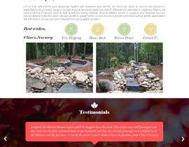 #14 for Create website mockup design for plant nursery Nursery by AndruWork
