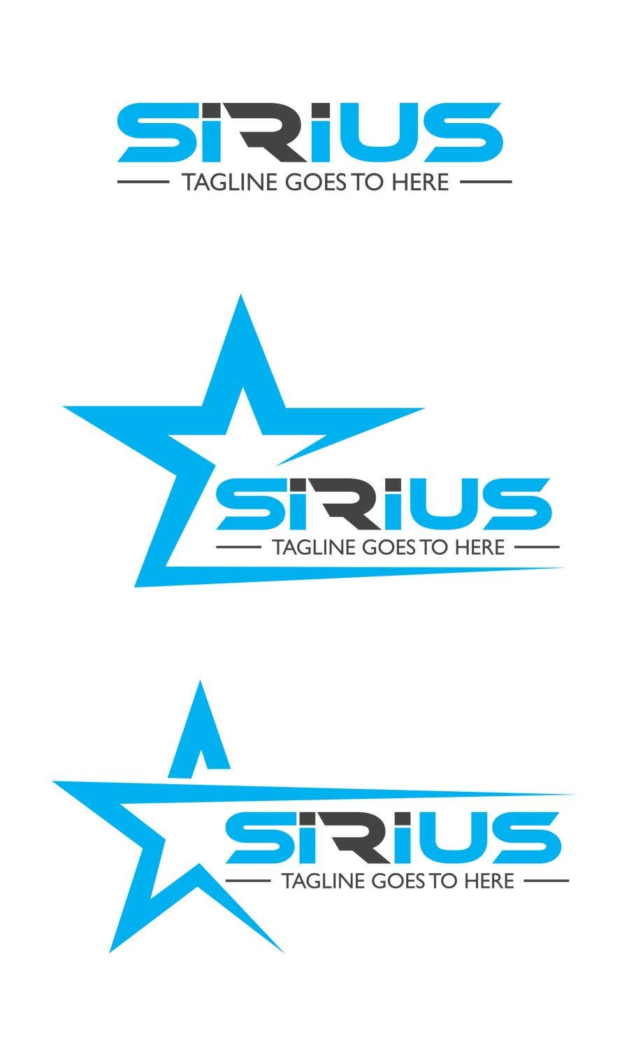 Kilpailutyö #1346 kilpailussa New Logo :   SIRIUS
