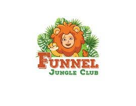 nº 10 pour Funnel Jungle Club logo. These are just ideas but I'm open to others, Maybe you can add a salesfunnel symbol or my lion (must be the same if you it, this lion is part of my product) or simply nothing. par akashsahaoo7