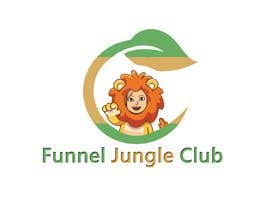 nº 4 pour Funnel Jungle Club logo. These are just ideas but I'm open to others, Maybe you can add a salesfunnel symbol or my lion (must be the same if you it, this lion is part of my product) or simply nothing. par selimreza9205