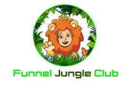 nº 8 pour Funnel Jungle Club logo. These are just ideas but I'm open to others, Maybe you can add a salesfunnel symbol or my lion (must be the same if you it, this lion is part of my product) or simply nothing. par ichavkov