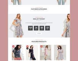 #13 untuk Home page redesign oleh sharifkaiser