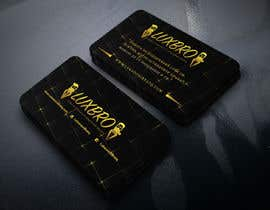#27 for Luxury Black and Gold Business Card Design for Jewelry website af shorifuddin177