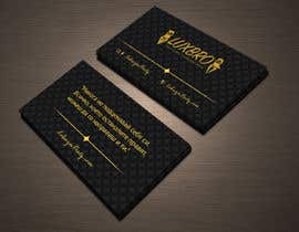 #36 for Luxury Black and Gold Business Card Design for Jewelry website af shiblee10