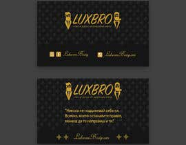 #44 for Luxury Black and Gold Business Card Design for Jewelry website af shiblee10
