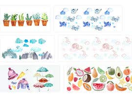 #94 for Kid's watercolor drawings af biswasshuvankar2