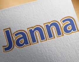 #97 untuk Design a Logo for JANNA oleh asifjano