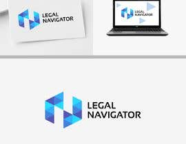 #532 for Logo design (LEGAL NAVIGATOR) af anayahdesigner