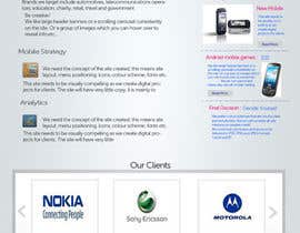 #43 para Website Design for MobeSeek - mobile strategy agency de patil1987