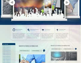#38 pentru Website Design for MobeSeek - mobile strategy agency de către crayoni