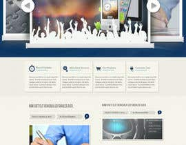 #39 pentru Website Design for MobeSeek - mobile strategy agency de către crayoni
