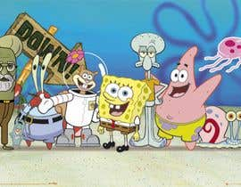Nro 4 kilpailuun Design a spongebob-style character of a person käyttäjältä khaledalghool