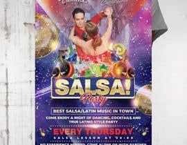 Nro 78 kilpailuun Design flyer/poster for salsa events käyttäjältä MooN5729