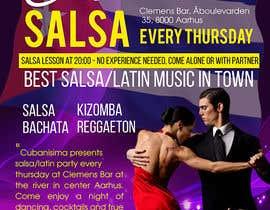 Nro 50 kilpailuun Design flyer/poster for salsa events käyttäjältä maidang34