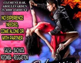 Nro 31 kilpailuun Design flyer/poster for salsa events käyttäjältä Rajrobi