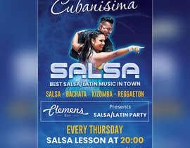 Nro 60 kilpailuun Design flyer/poster for salsa events käyttäjältä kazimbalti01