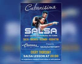 Nro 61 kilpailuun Design flyer/poster for salsa events käyttäjältä kazimbalti01