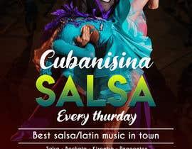 Nro 33 kilpailuun Design flyer/poster for salsa events käyttäjältä galee600