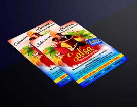 Nro 48 kilpailuun Design flyer/poster for salsa events käyttäjältä EliJoe868
