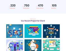 Nro 21 kilpailuun Homepage of a website käyttäjältä amir499