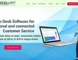 Nro 37 kilpailuun Homepage of a website käyttäjältä FreelancerRiaz74