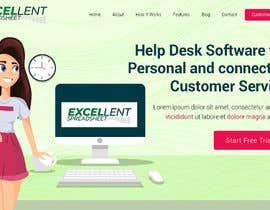 Nro 7 kilpailuun Homepage of a website käyttäjältä AffordableWeb101