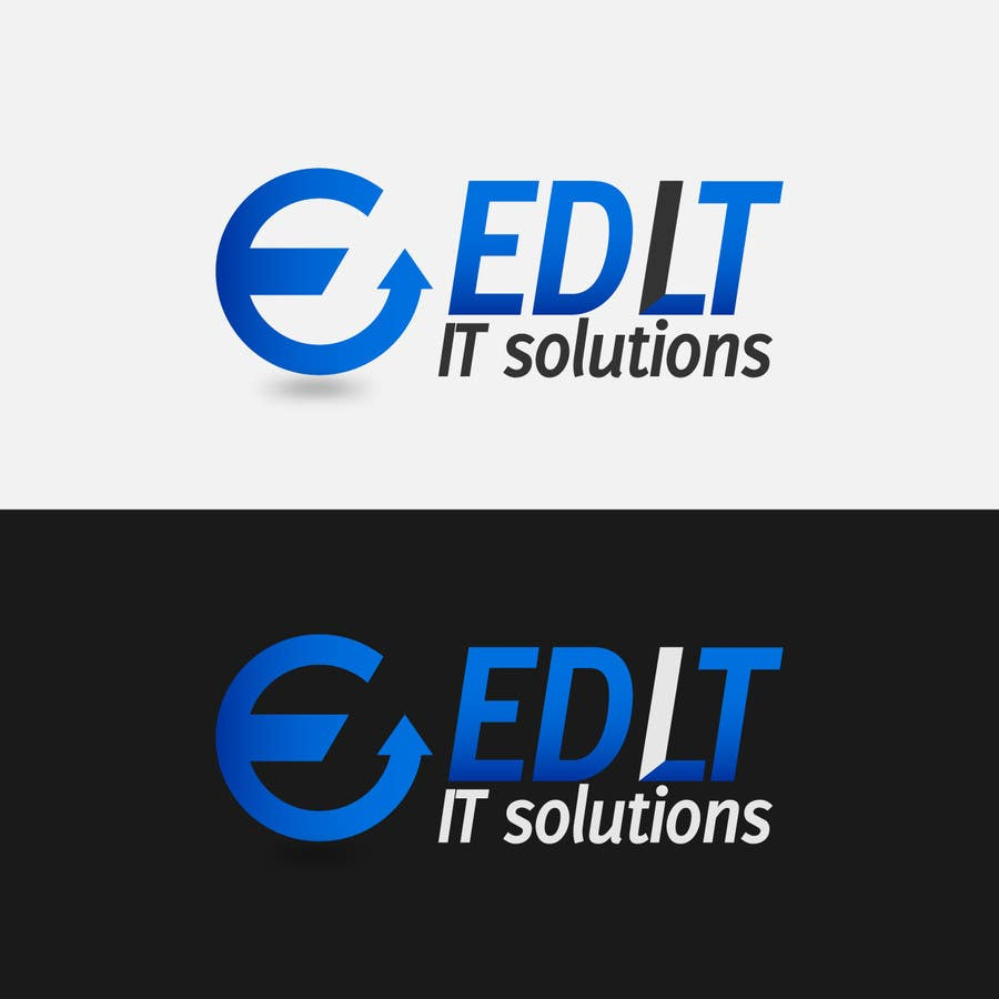 Bài tham dự cuộc thi #                                        49                                      cho                                         Logo Design for IT solutions website