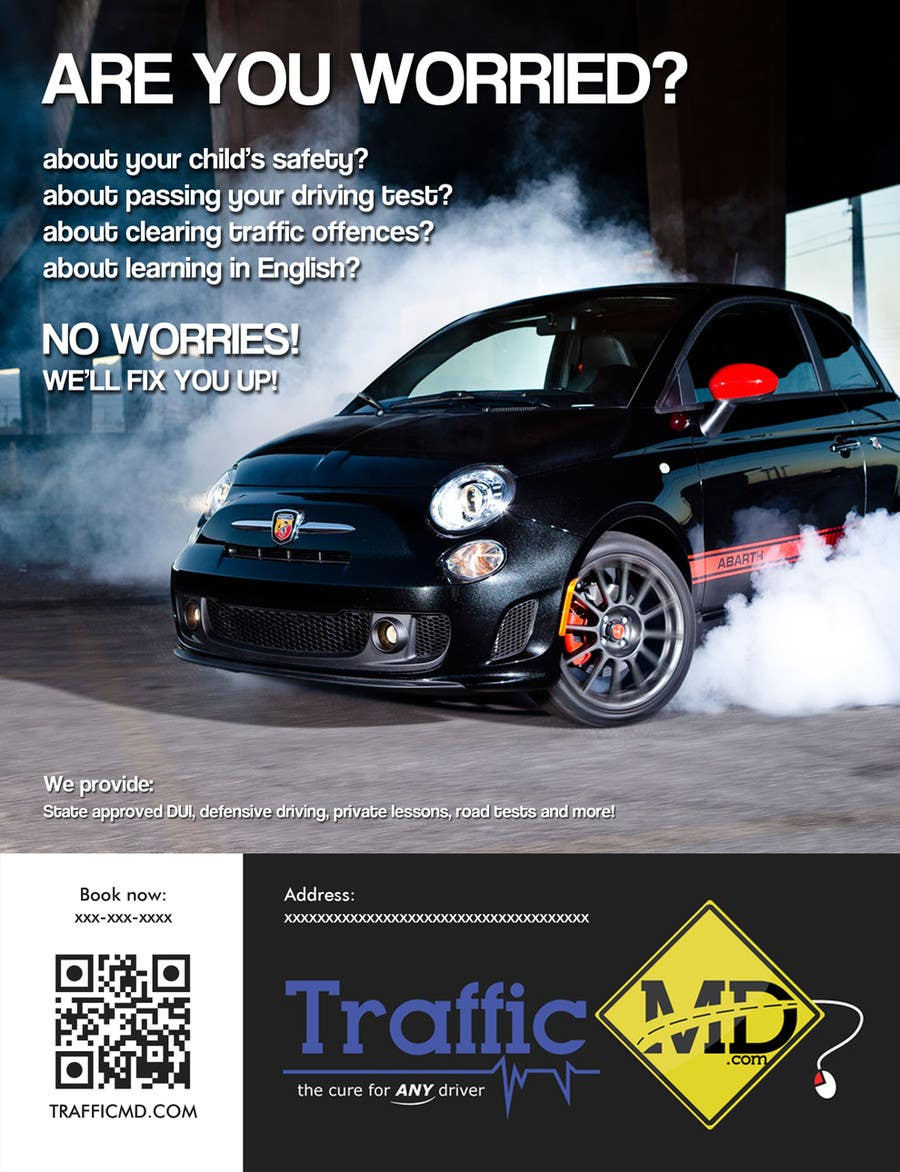 contest entry 4 for advertisement design for trafficmdcom magazine ad full page - Full Page Color
