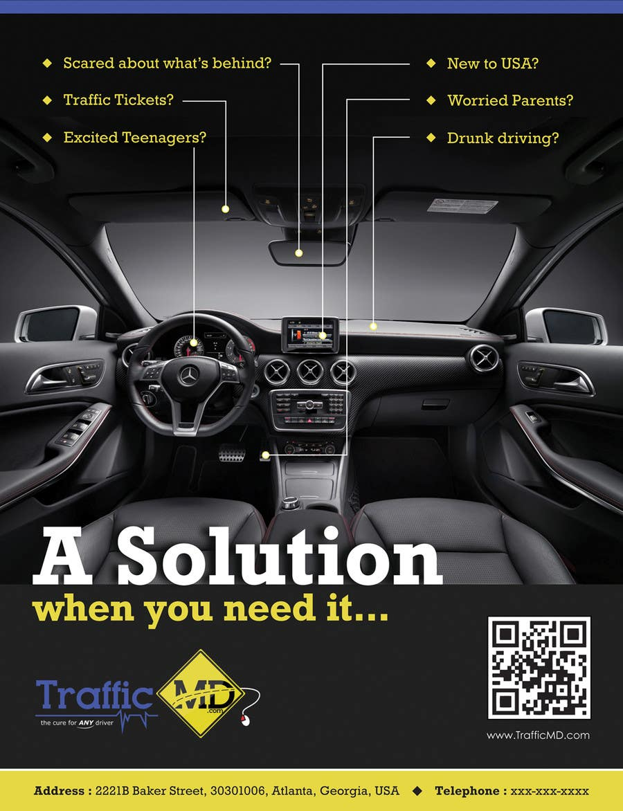 #7 for Advertisement Design for TrafficMD.com Magazine Ad - Full Page Color by JhilikDasgupta