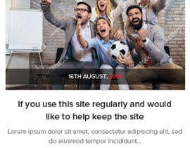 #7 for Design home page for digital marketing agency in psd by saidesigner87