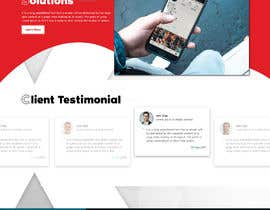 #30 for Design home page for digital marketing agency in psd by saidesigner87