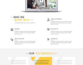 #29 for Design home page for digital marketing agency in psd by adixsoft