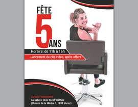 nº 13 pour Flyers fête 5 ans salon de coiffure par kanij09