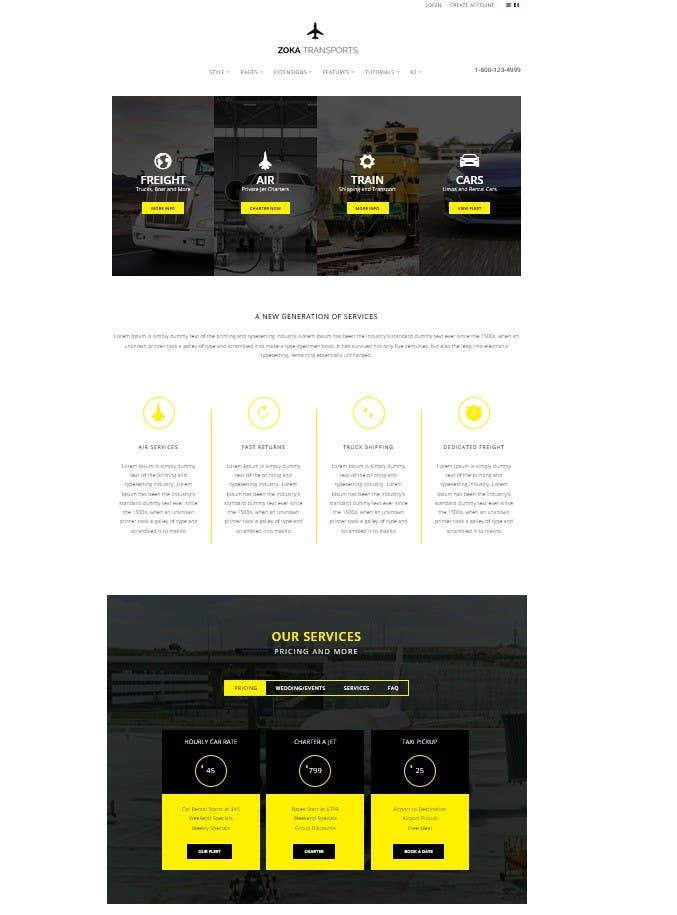 Contest Entry 3 For Create A Joomla Template Ats Victoria