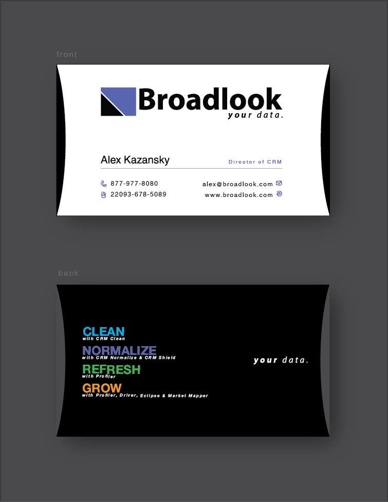 #43 for Business Card Design for a Technology Company by frantzmaryus
