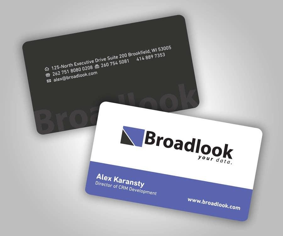 Inscrição nº 37 do Concurso para Business Card Design for a Technology Company