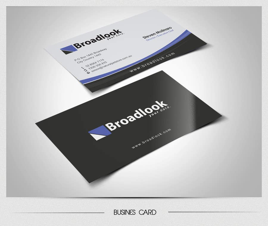 #39 for Business Card Design for a Technology Company by totok14