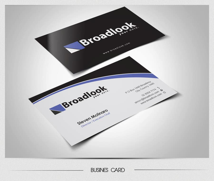 #41 for Business Card Design for a Technology Company by totok14