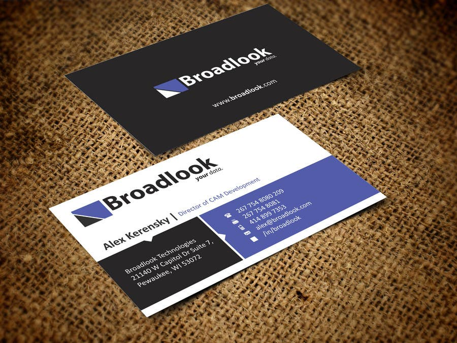 #30 for Business Card Design for a Technology Company by ezesol