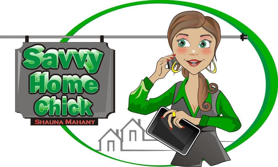 #54 for Cartoon Logo Design for Real estate agent. by aarpum18