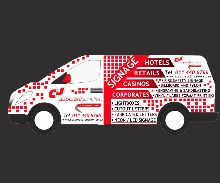 Proposition n°                                        14                                      du concours                                         I need some Graphic Design for vehicle