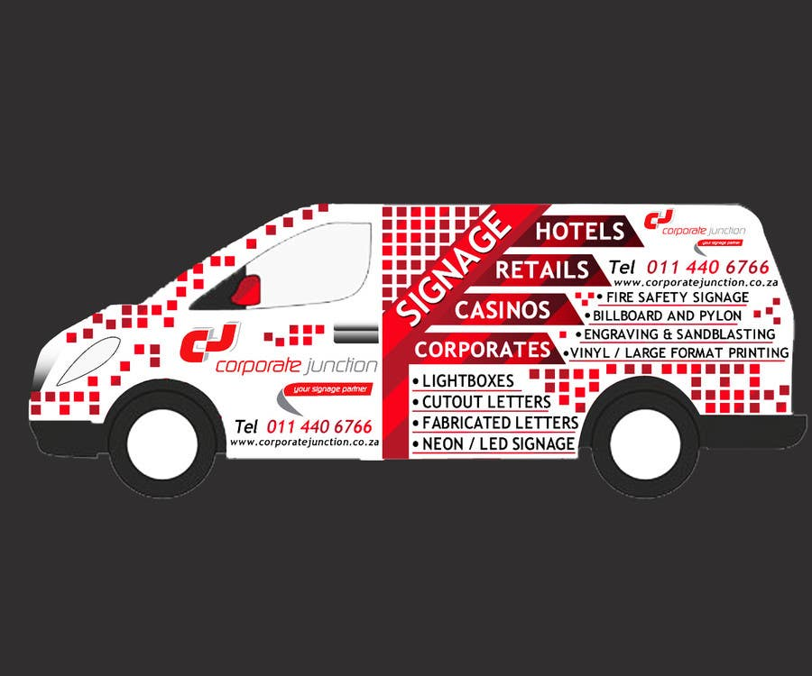Proposition n°                                        16                                      du concours                                         I need some Graphic Design for vehicle