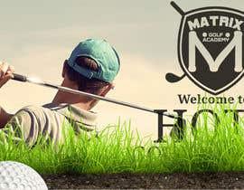 #54 para Matrix Golf Academy logo design por Safemode2511