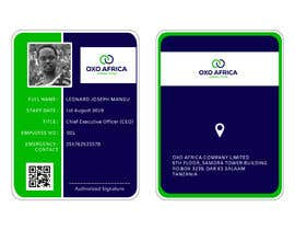 #12 for CREATE EMPLOYEE IDENTIFICATION CARD DESIGN FOR OXO COMPANY LIMITED by nsbprivate